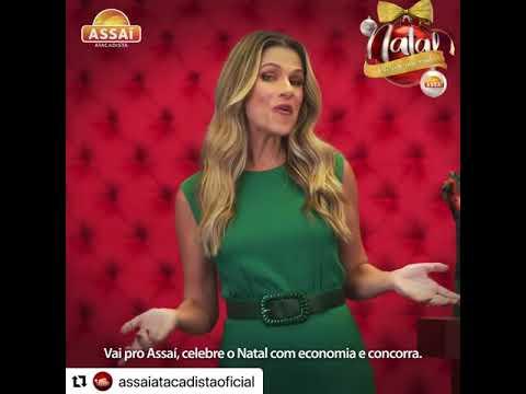 Capa de Assai Atacadista Natal com Ingrid Guimarães