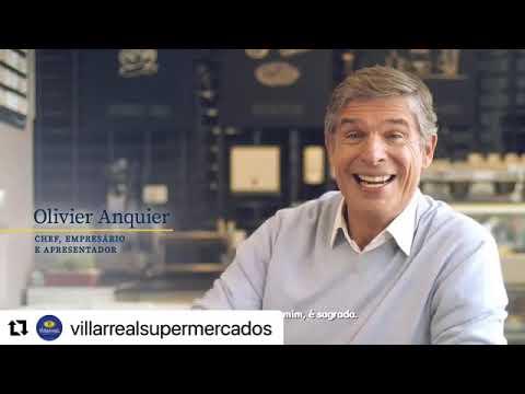 Capa de Villarreal Supermercados Chef Olivier Anquier Filme Cafe
